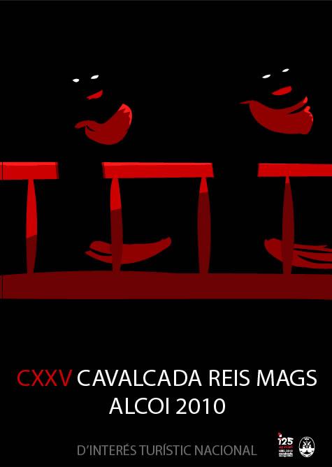 cartel cavalcada reis mags alcoi 2010